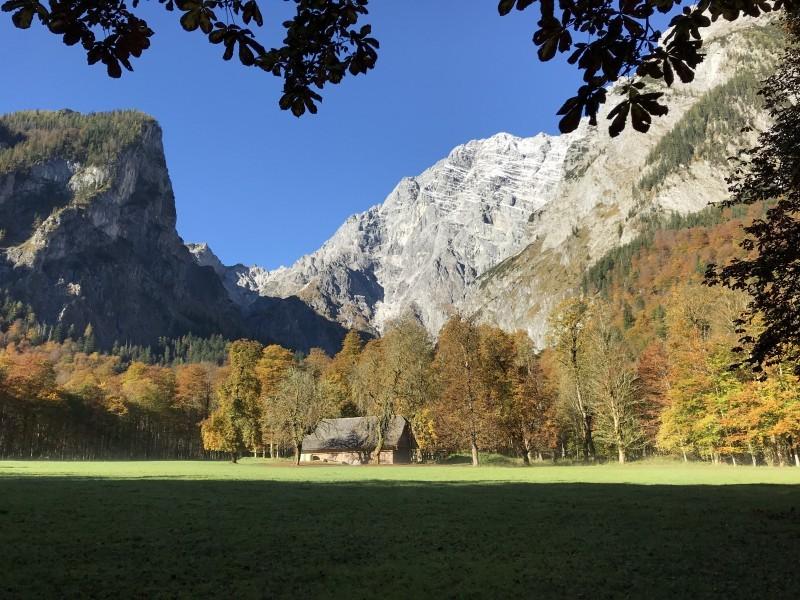 Herbst in Berchtesgaden