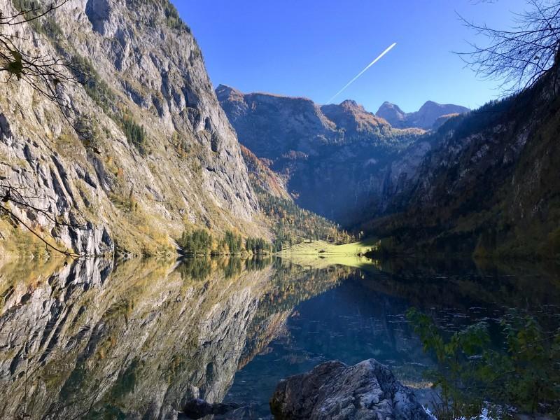 Herbst am See Berchtesgaden